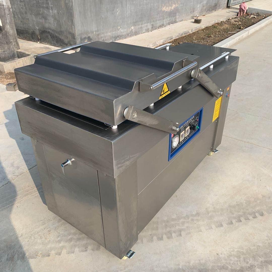 半自动摆盖真空包装机 食品真空包装机