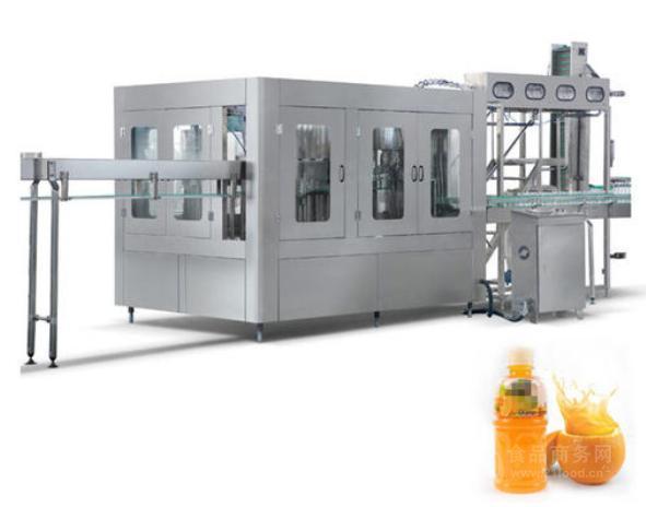 全自动瓶装果汁饮料灌装机生产线