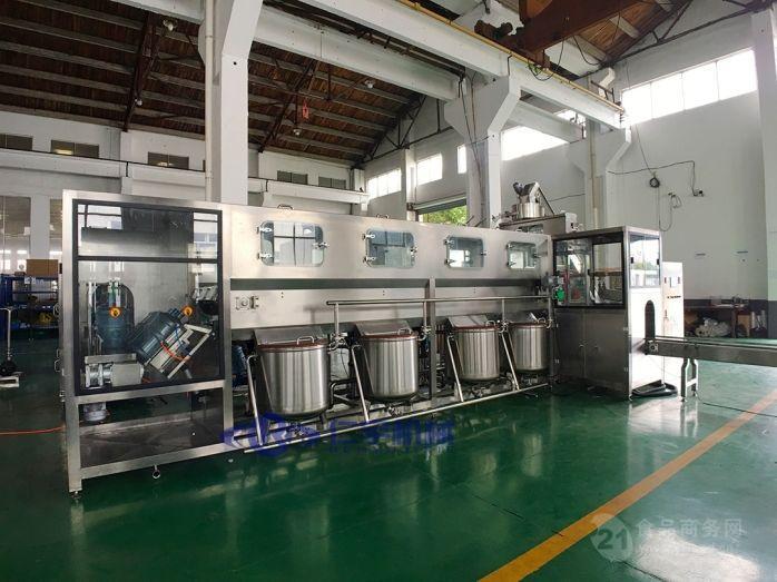 全自动三合一大桶水灌装机生产线