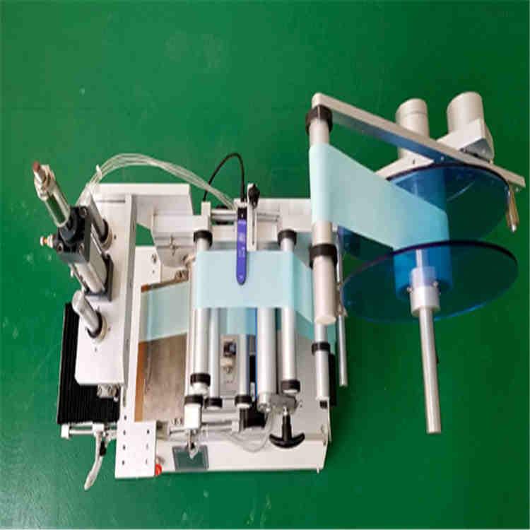 葫芦岛特价方形贴标机 不干胶标签805型半自动贴标  沃发定制