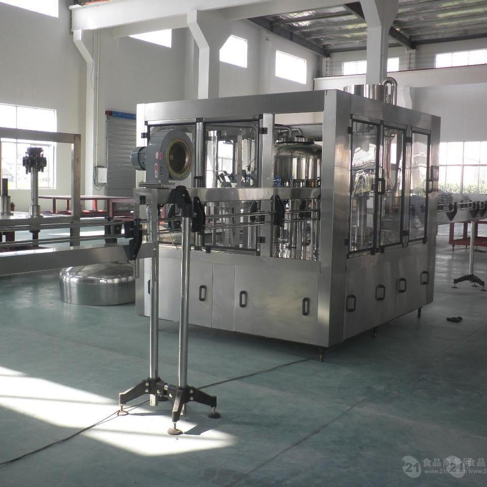 全自动三合一矿泉水灌装机 CGF