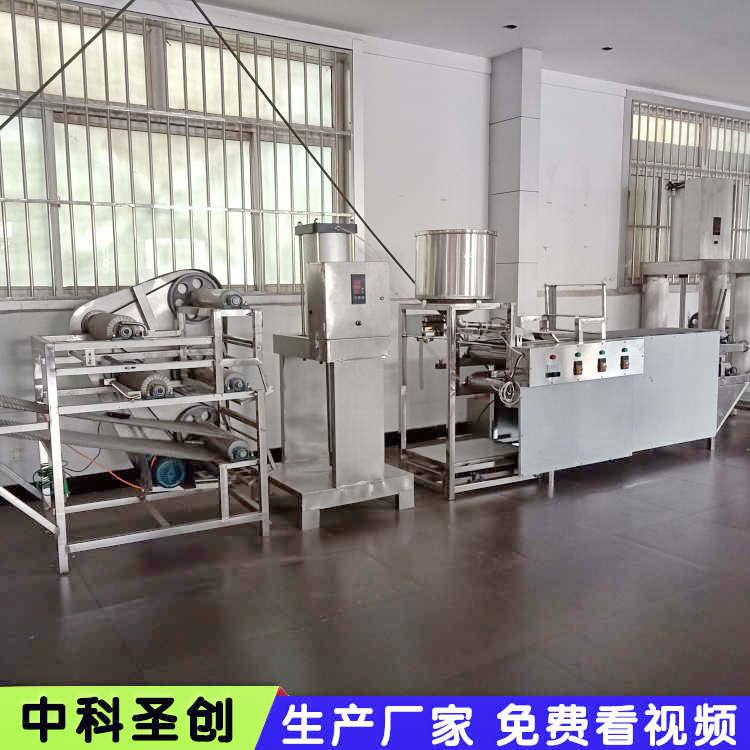 小型豆腐皮机械 做厚薄豆腐皮的机器 山东豆制品机械厂家
