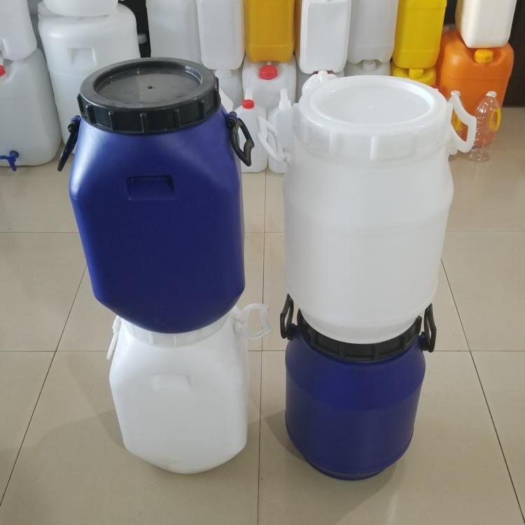 拧盖25升塑料桶25公斤大口方桶