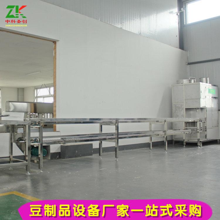 冲浆豆腐机械 大型板式冲浆豆腐机 大型豆制品加工厂设备