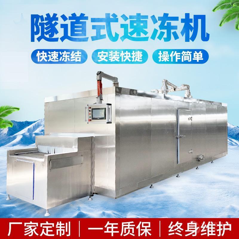 北极虾速冻机 全自动海鲜速冻设备 丸子速冻机