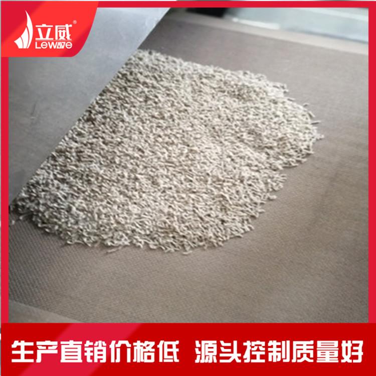 豆腐猫砂微波干燥设备 猫砂连续式烘干