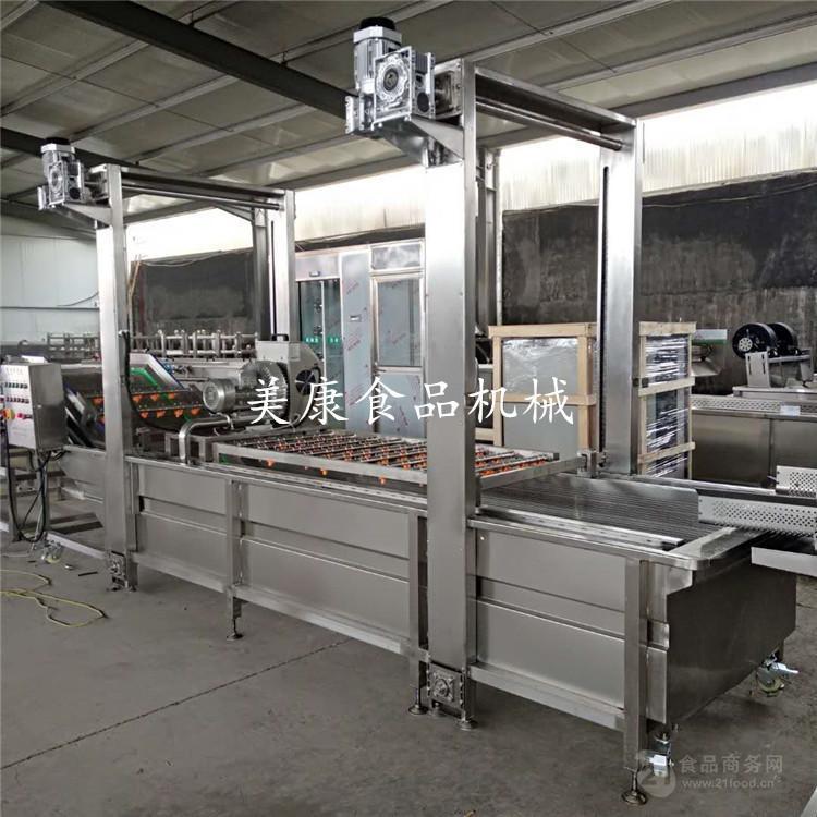 美康木瓜专用清洗机 木瓜深加工臭氧清洗流水线厂家生产