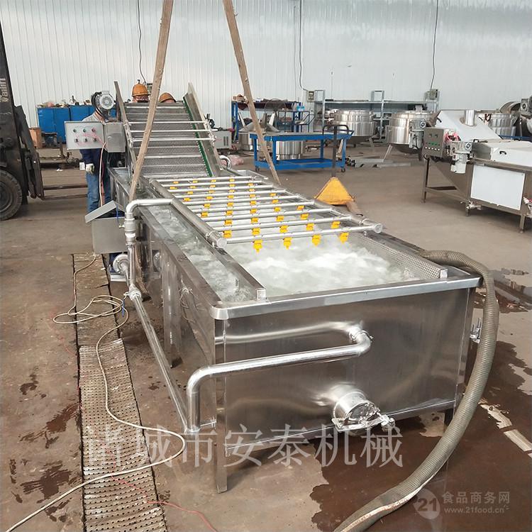 不鏽鋼洗魚機 帶魚氣泡清洗機