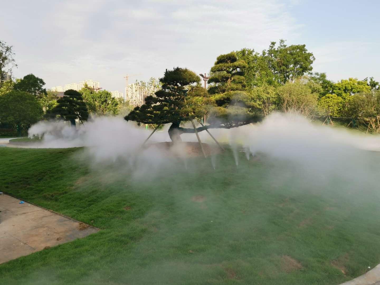 雾森景观惊艳亮相西安世博园!