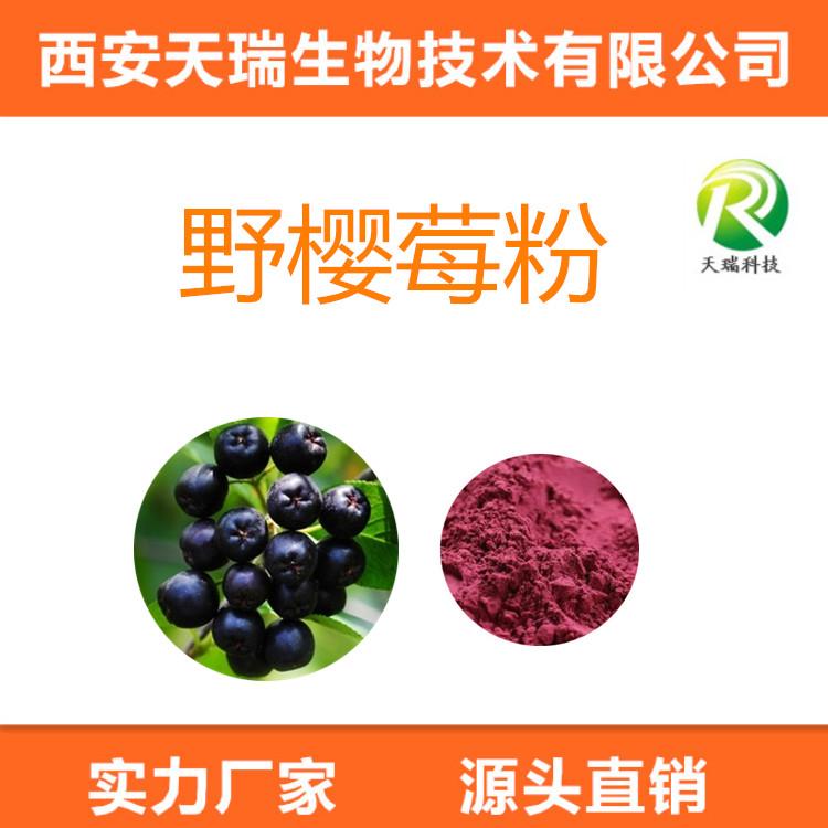 黑果腺肋花楸果粉 SC认证 野樱莓果粉/提取物