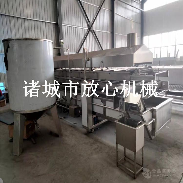 产能300公斤油炸花生米生产线