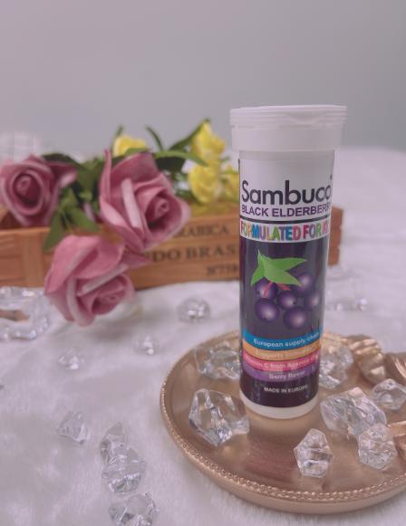 SAMBUCOL牌接骨木莓泡騰片(體驗裝)