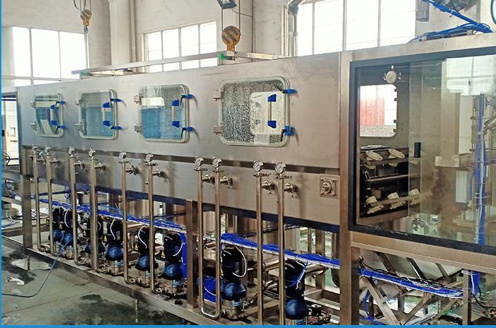 全自动小型三合一五加仑桶装水灌装机