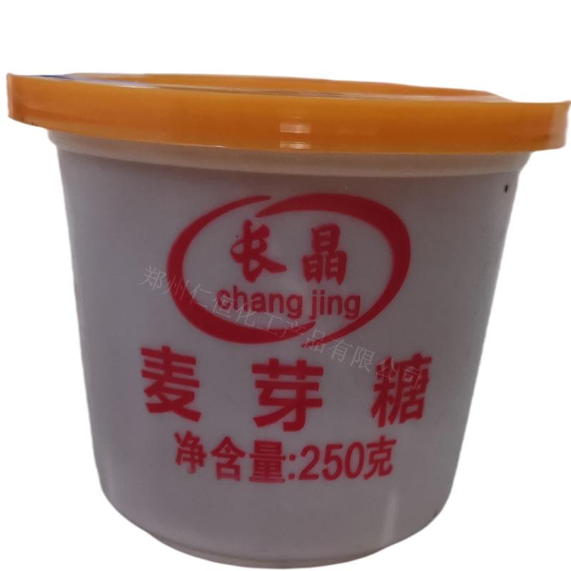 长晶麦芽糖 食品级 甜味剂 麦芽糖金黄色 250g*40盒/箱 1瓶起订