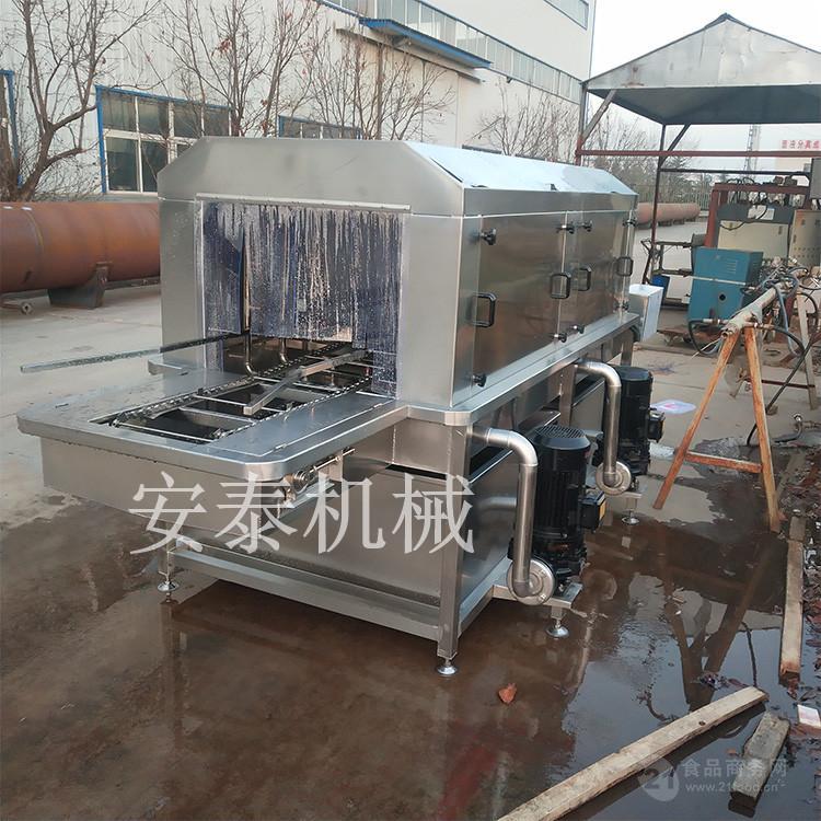 進口凍肉外包裝消毒機