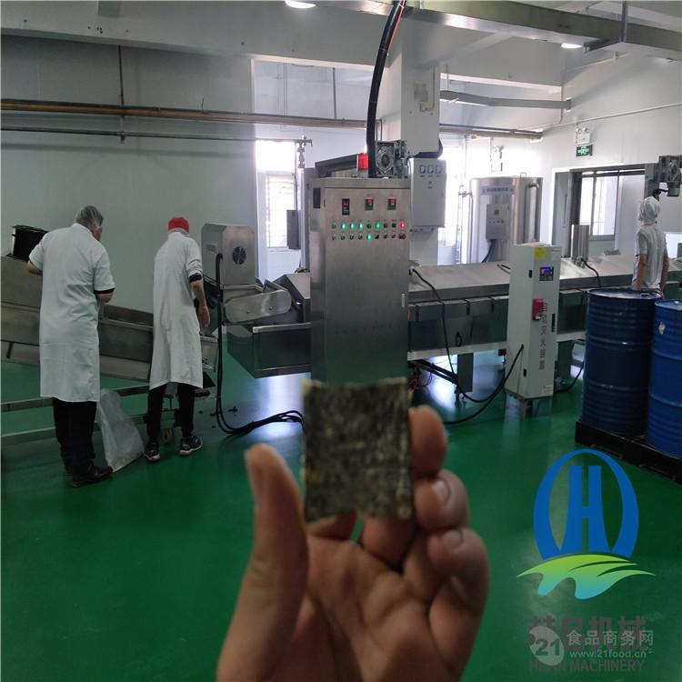 赫品大蝦浸漿機  網帶式上漿機 掛漿液專用機器