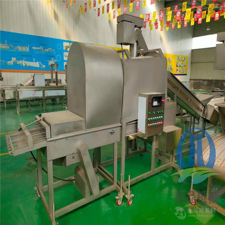 小酥肉上粉生產設備 廠家 新款上粉機