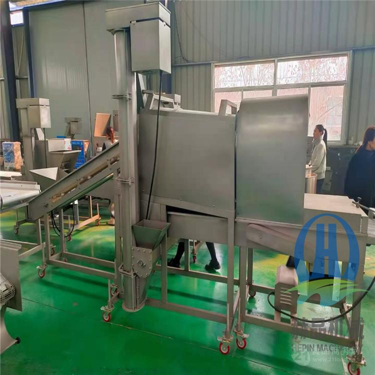小酥肉滾筒上粉機 雞米花生產線設備  廠家直供