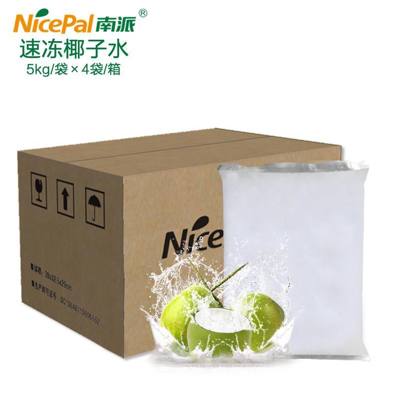 南派速冻椰子水冷冻水果浆20公斤/箱水果茶奶茶冷热饮料原料