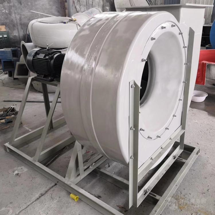 南寧防爆離心風機2.2kw 1200pa離心玻璃鋼風機價格