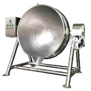 蒸煮夹层锅 电加热倾斜式夹层锅 夹层锅价格