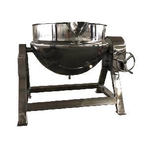带搅拌蒸汽卤煮锅 蒸汽夹层锅图片