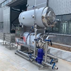 灭菌锅操作方法 高温灭菌锅生产厂家 淡水鱼罐头杀菌锅