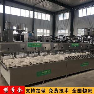 老豆腐机器 大型全自动豆腐机 厂家现场试机