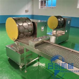 带技术工艺蛋皮机 小型烤鸭饼机 自动上浆千层榴莲饼皮机生产商