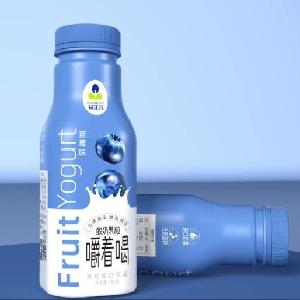 益正元蓝莓果粒酸奶饮品316毫升真果粒