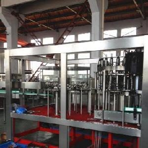 厂家直销玻璃瓶啤酒灌装机全套设备 DCGF