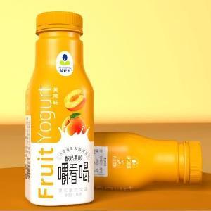 益正元酸奶果粒饮品316毫升黄桃果粒