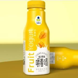 益正元芒果果粒酸奶饮品300毫升