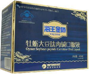 海王金樽牌牡蛎大豆肽肉碱口服液价格
