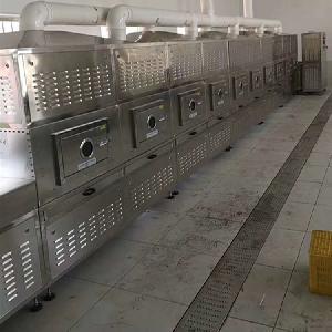 新型防火陶瓷微波烘干定型设备50HM型隧道连续式