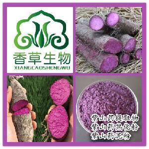 紫山药熟粉80目 批发熟紫山药粉价格 紫山药代餐粉即食