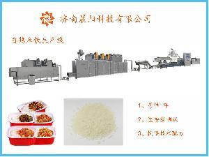 自嗨锅自热米饭生产线  免蒸米饭生产线