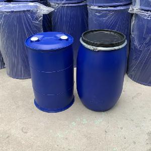 雙閉口100公斤塑料桶 小口100升塑料桶藍色款