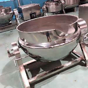 商用200L不銹鋼夾層鍋 食堂專用炒菜熬粥一體鍋 鹵制鍋生產商