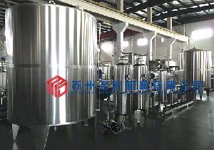 純凈水飲用水RO反滲透水處理生產線設備