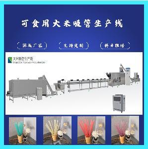 可降解可食用的环保大米吸管加工机械设备