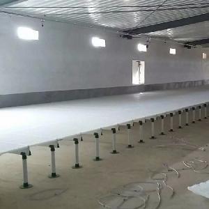 两高一低种鸡漏粪板 塑料鸡床垫板  养鸡专用漏粪板塑钢梁