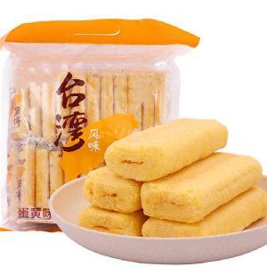 希朗机械 方形台湾米饼 夹心米果生产设备 尺寸定制规格齐全