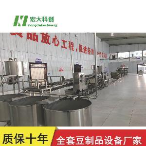 济宁全自动豆腐皮机厂家直供  大型豆腐皮机生产线