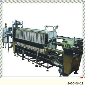 新轻机械   供应板框式硅藻土过滤机
