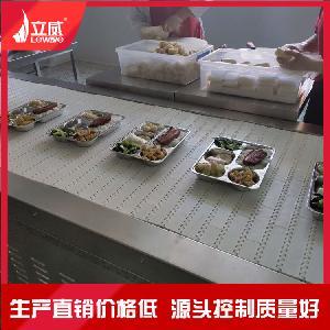 隧道式盒饭加热机 济南学生餐微波加热杀菌设备厂家