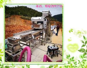 新轻机械  葡萄酒生产线设备  加工定制  保证质量
