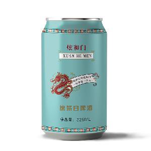 易拉罐啤酒招商 炫和门易拉罐啤酒招台州路桥椒江代理商
