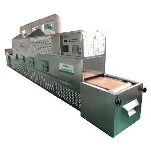 西安圣达微波杀青设备厂家 定制茶叶杀青机 匹配产量大小型号都有