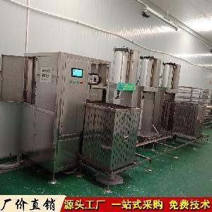 自动豆干生产线 小型数控豆腐干机 一机多用豆干机价格